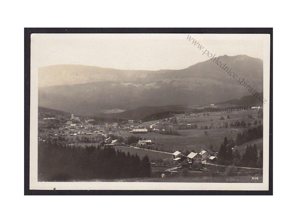 28- Šumava, Bayerisch Eisenstein, Železná Ruda, ca 1945