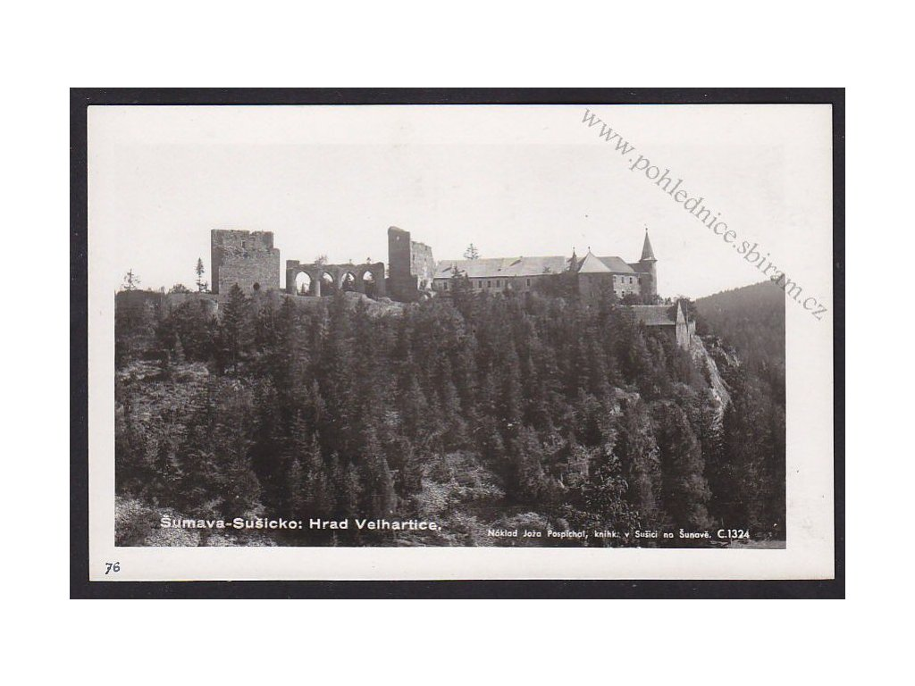28- Šumava, Velhartice, Foto Fon, ca 1930