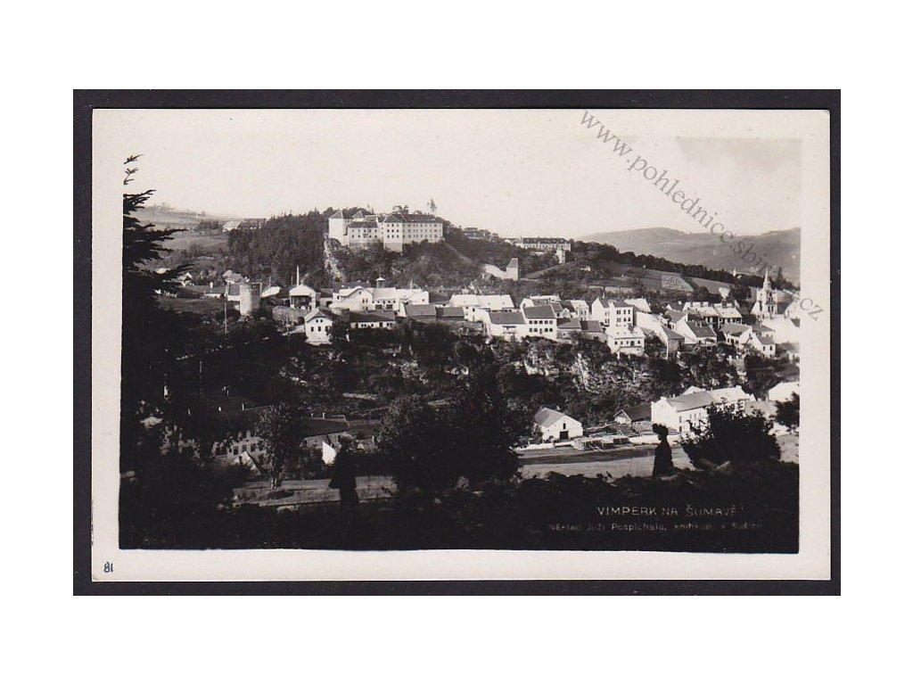28- Šumava, Vimperk, Foto Fon, ca 1931