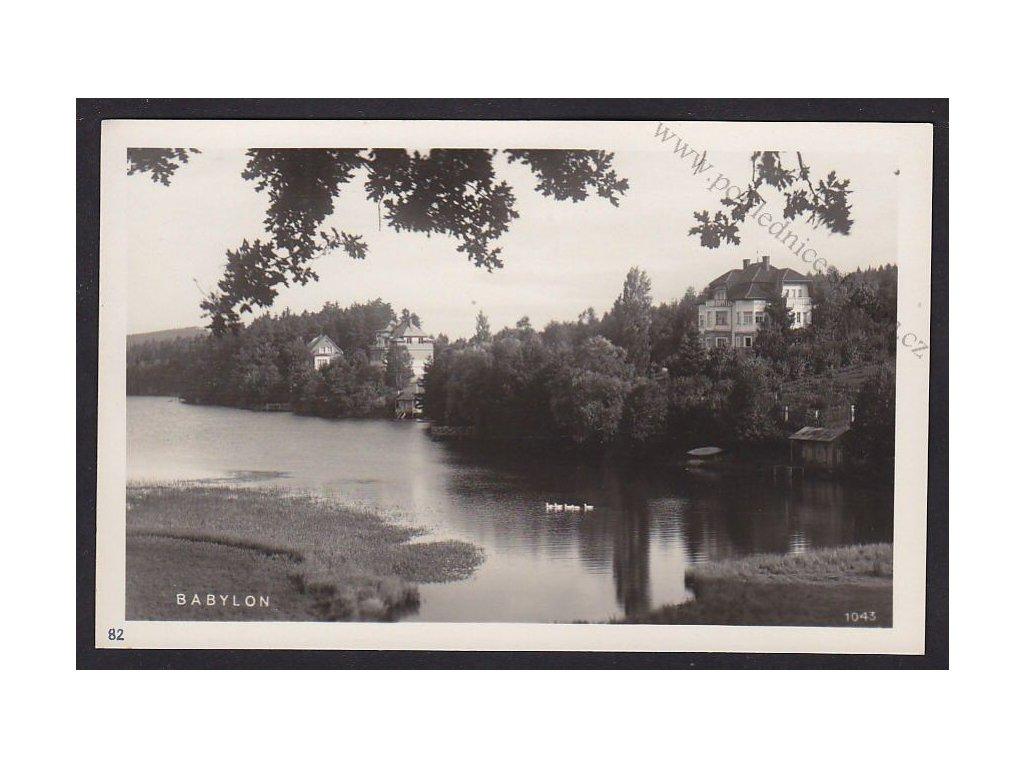 15- Domažlicko, Babylon, ca 1930