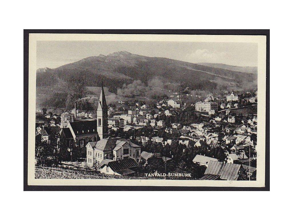 20 - Jablonecko, Tanvald, Šumburk, cca 1937
