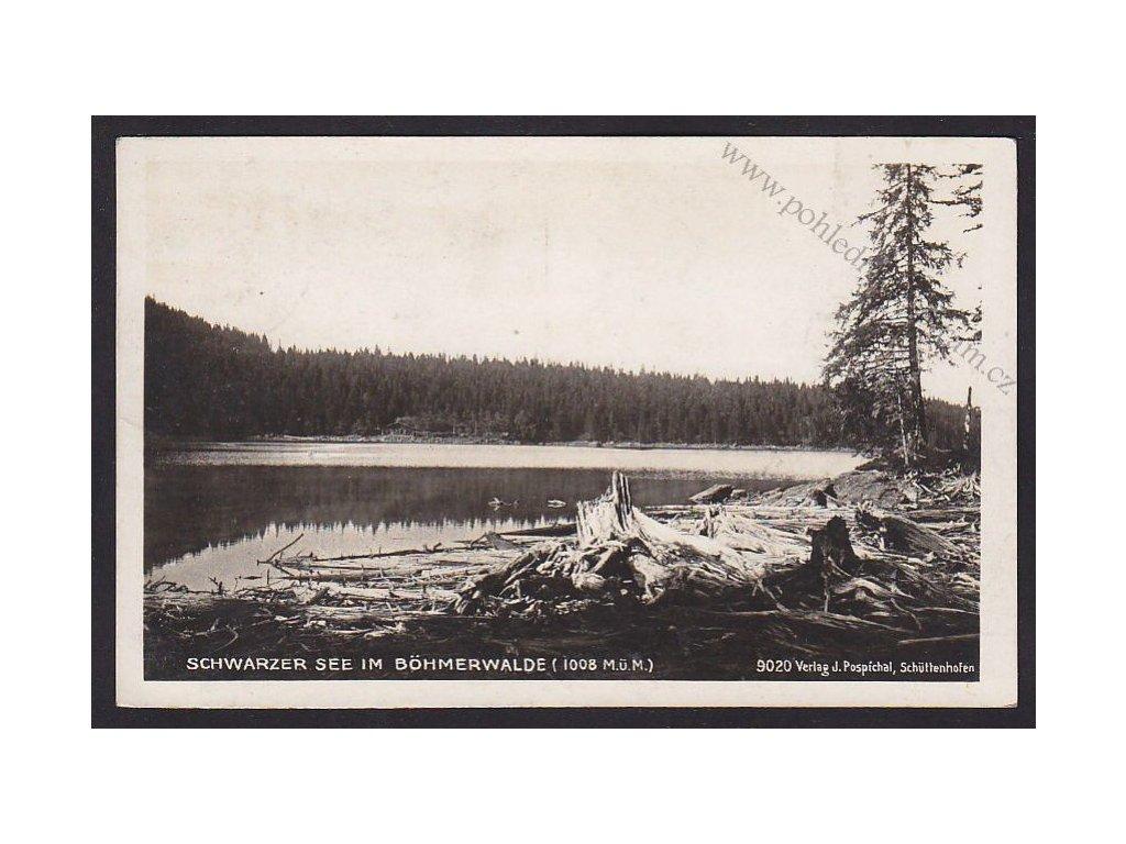 28- Šumava, Černé jezero, Foto Fon, ca 1935