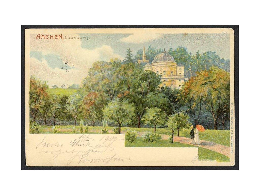 Deutschland, Aachen, Lousberg, cca 1900