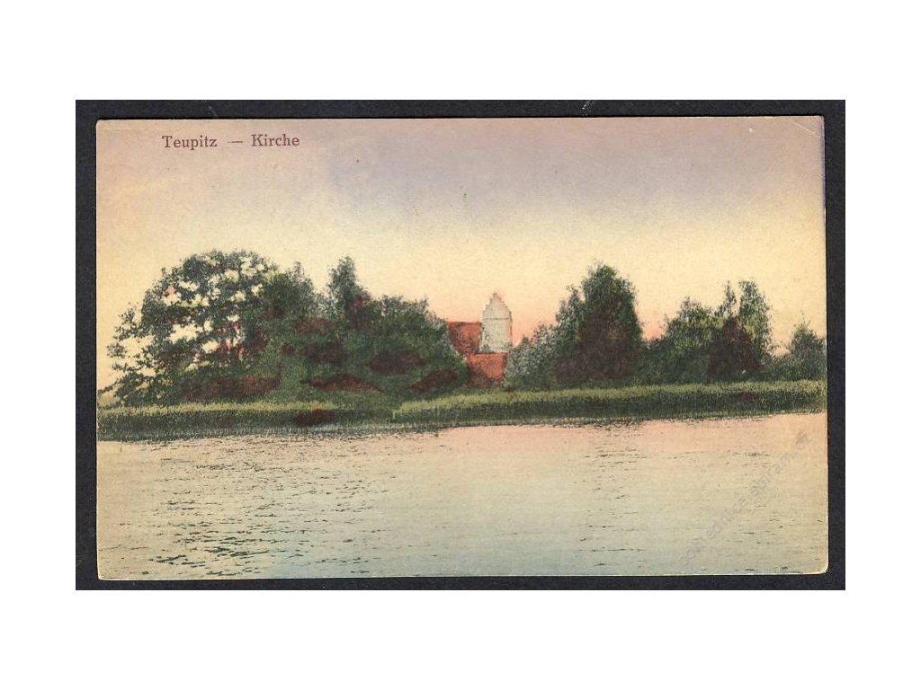 Deutschland, Teupitz, Kirche, cca 1910