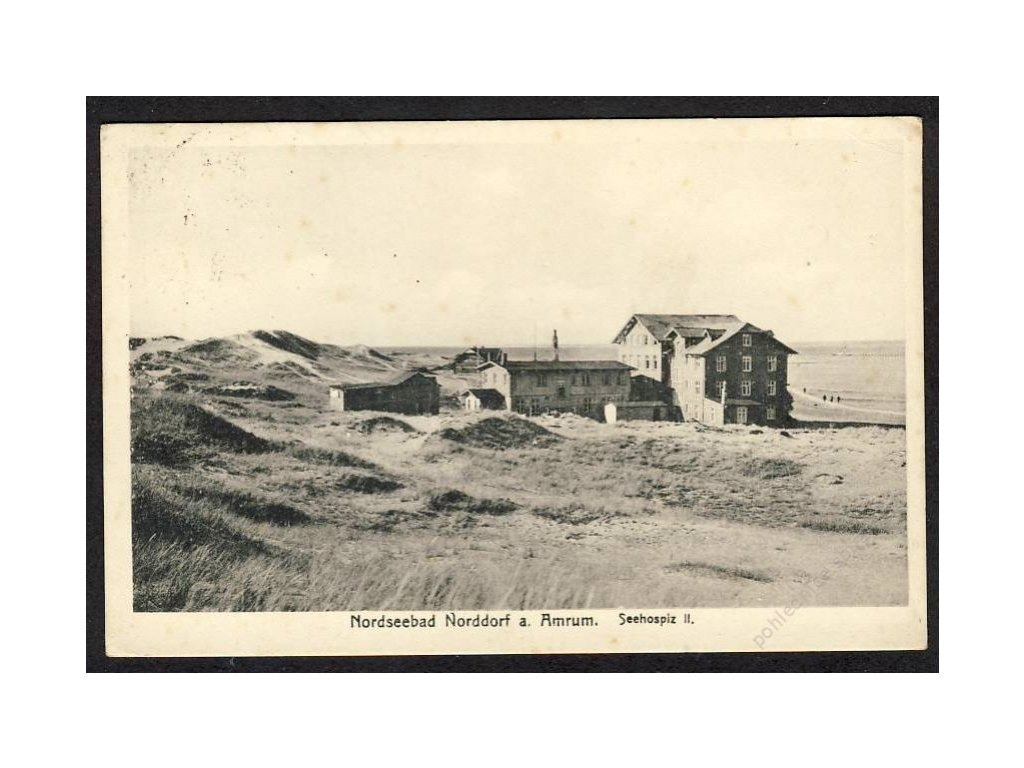Deutschland, Nordseebad Norddorf a. Amrum, Seehospiz, cca 1933