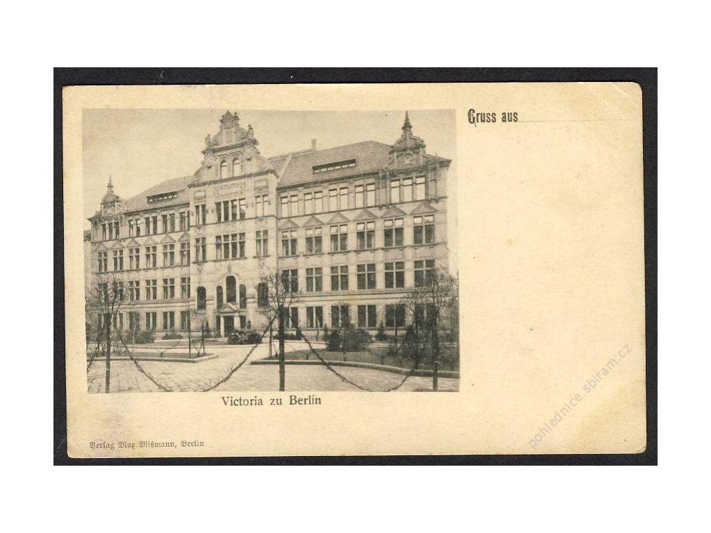 Deutschland, Gruss aus Victoria zu Berlin, cca 1900