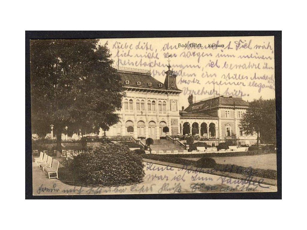 Deutschland, Bad Elster, Kurhaus, cca 1937