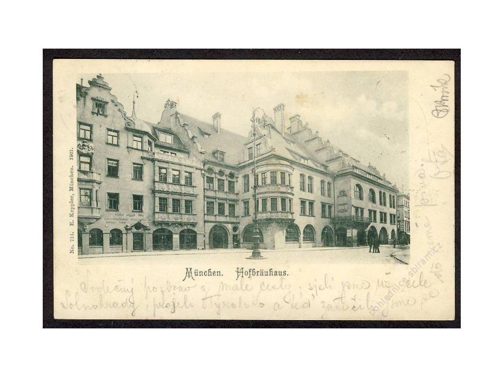 Deutschland, München, Hofbräuhaus, cca 1900