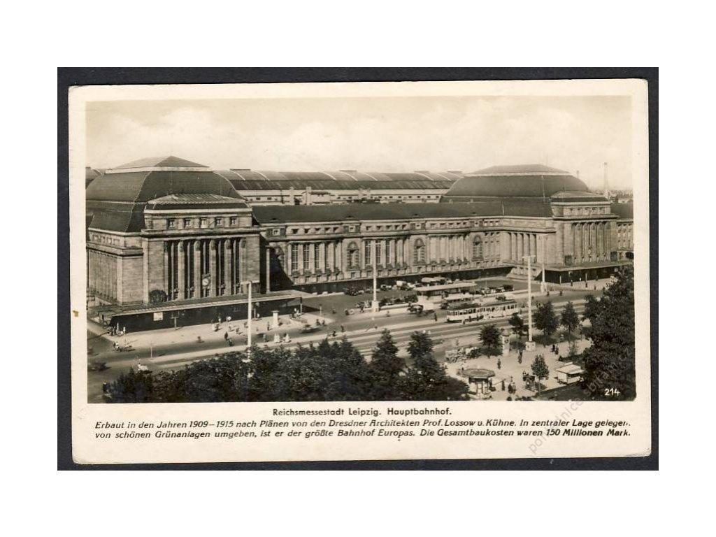 Deutschland, Messestadt Leipzig, Hauptbahnhof, cca 1930