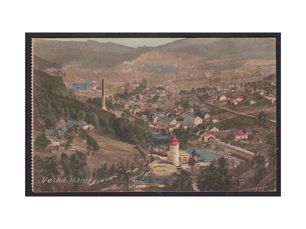 20 - Jablonecko, Velké Hamry, nakl. Vojtěch, cca 1920