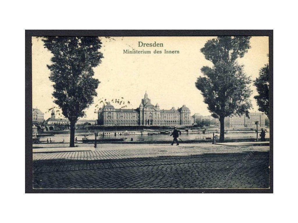 Deutschland, Dresden, Ministerium des Innern, cca 1922