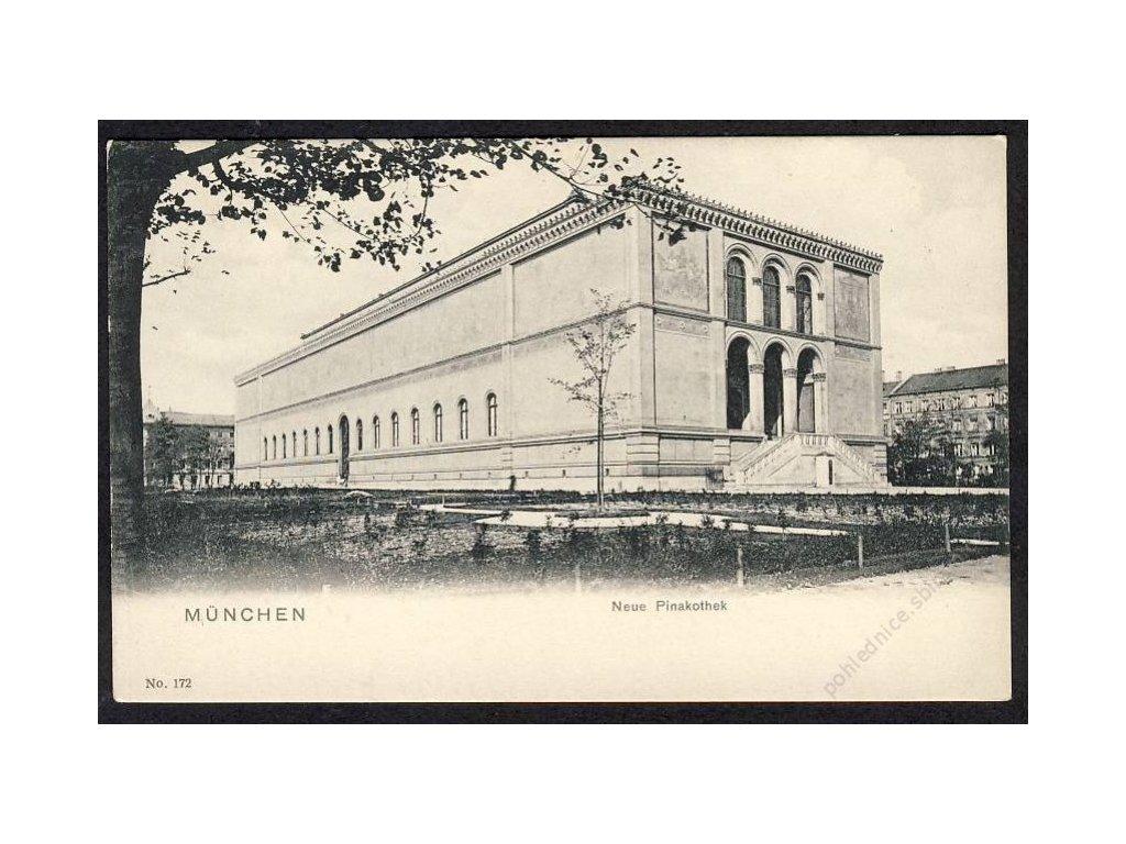Deutschland, München, Neue Pinakothek, cca 1899
