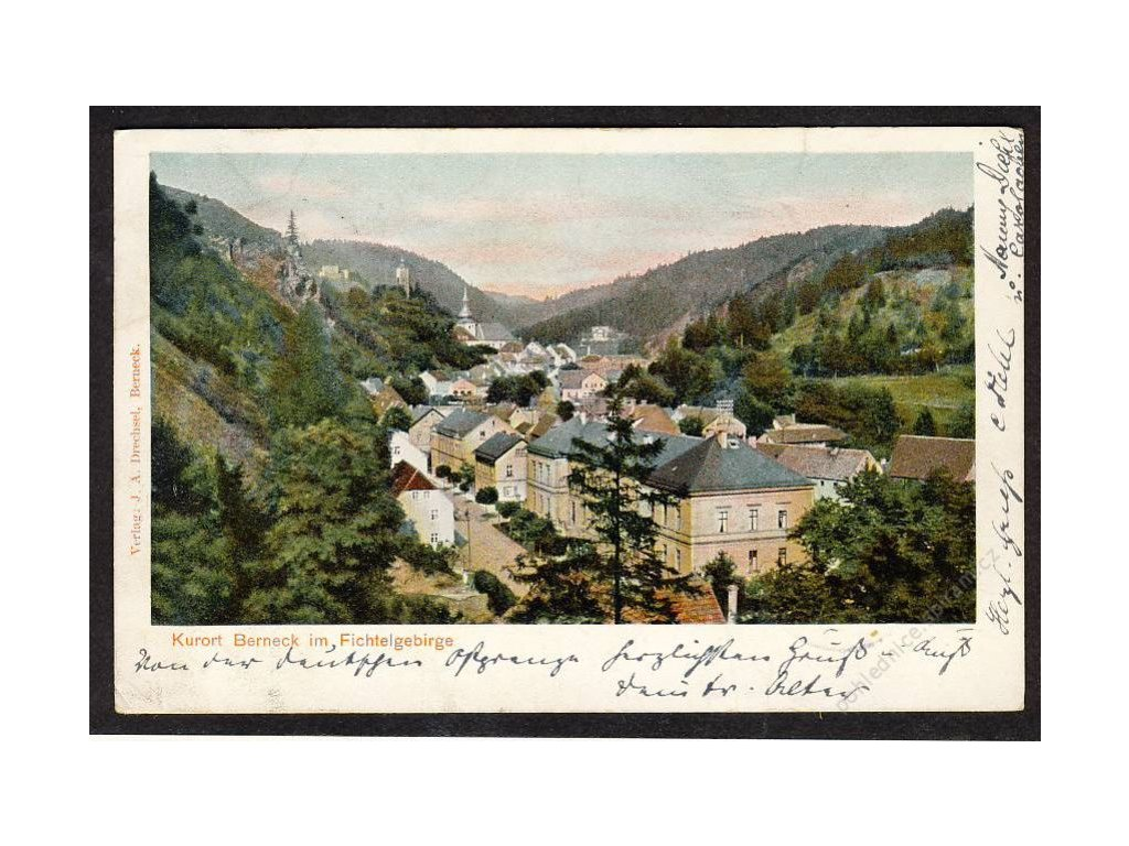 Deutschland, Kurort Berneck im fichtelgebirge, cca 1902
