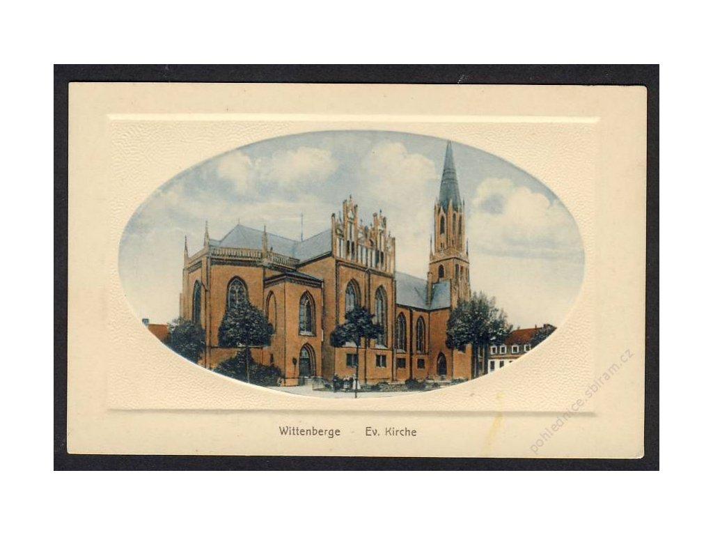 Deutschland, Wittenberge, Ev. Kirche, cca 1915