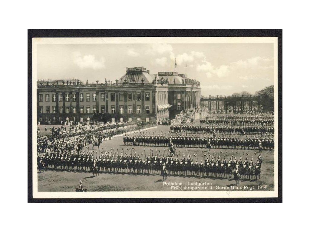 Deutschland, Potsdam, Lustgarten, Frühjahrsparade, cca 1914