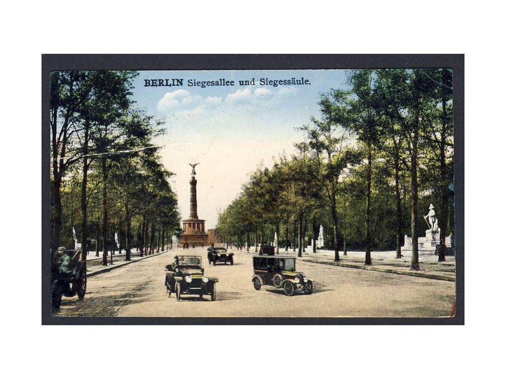 Deutschland, Berlin, Siegesallee und Siegessäule, cca 1923