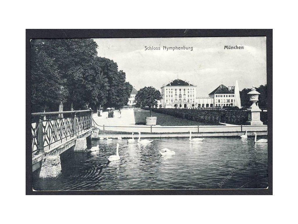 Deutschland, München, Schloss Nymphenburg, cca 1908