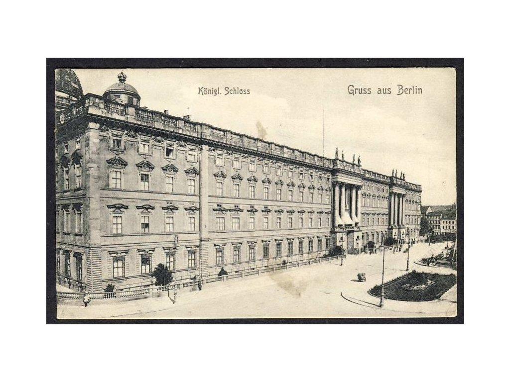 Deutschland, Gruss aus Berlin, Königl. Schloss, cca 1908