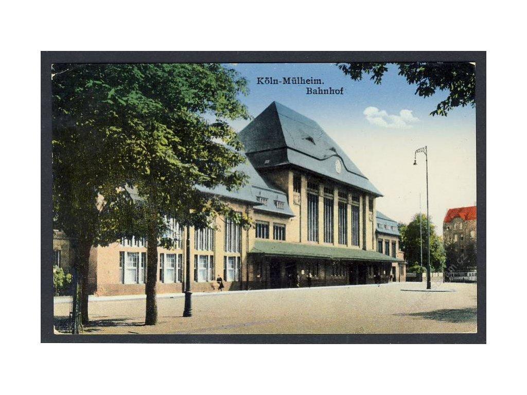 Deutschland, Köln-Mülheim, Bahnhof, cca 1939