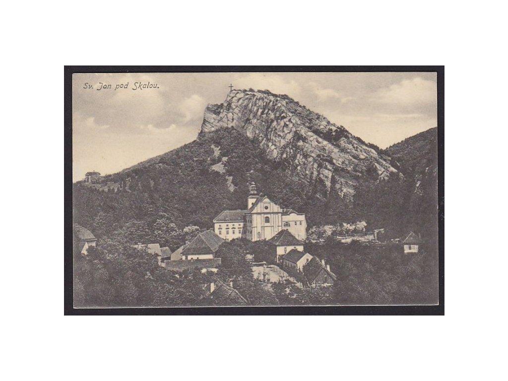 02 - Berounsko, Sv. Jan pod Skalou, nakl. Landa, cca 1925