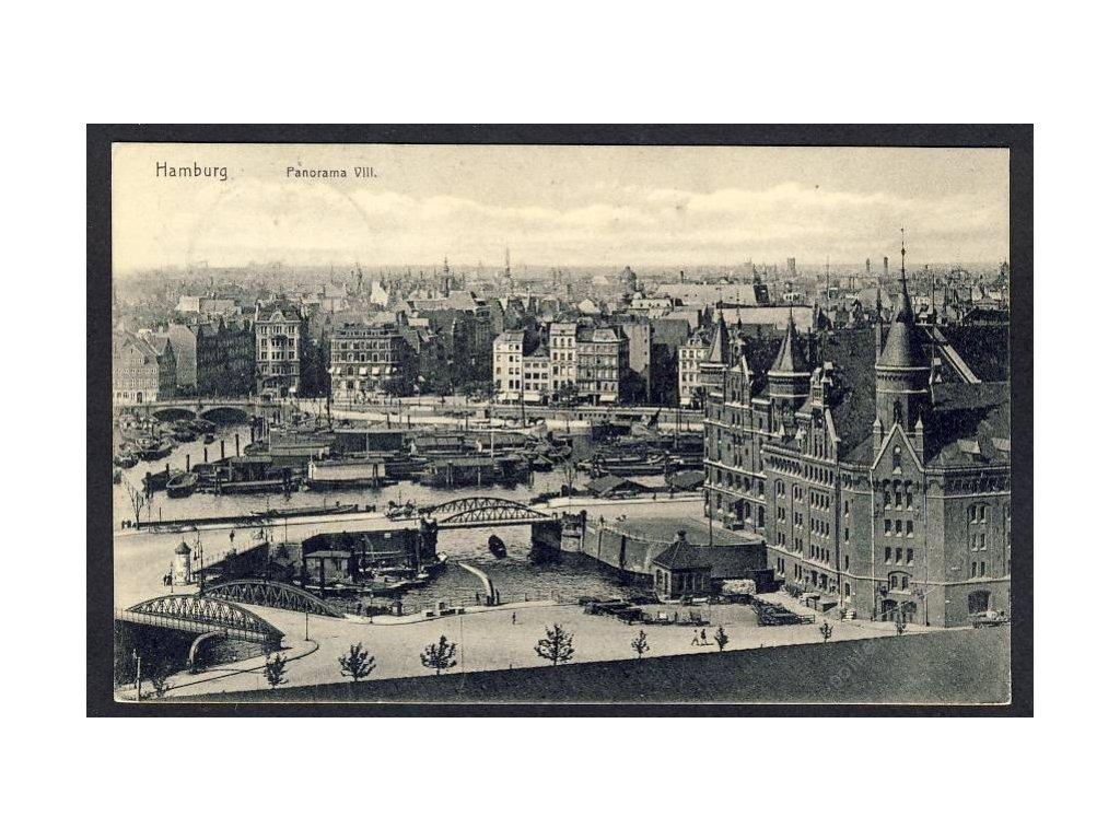 Deutschland, Hamburg, Panorama, cca 1910
