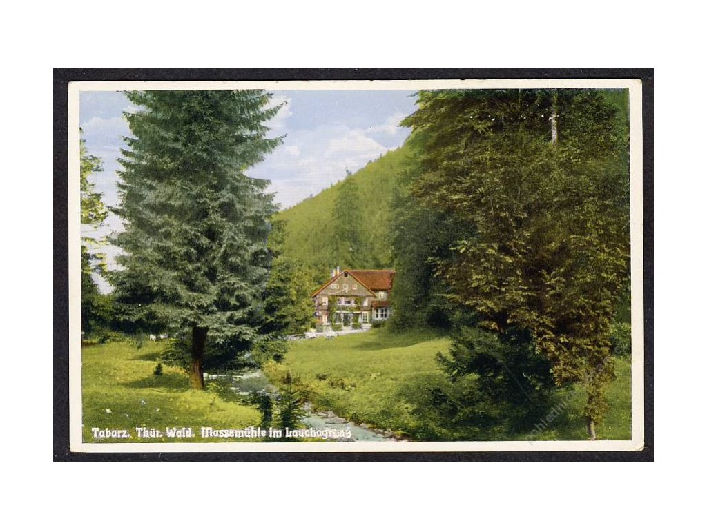 Deutschland, Tabarz, Thür. Wald, Massenmühle im Lauchagrund, cca 1935