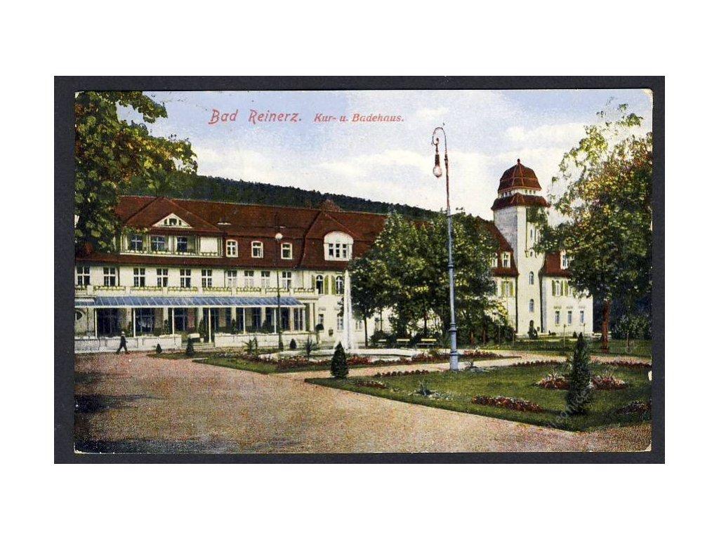 Deutschland, Bad Reinerz, Kur- und. Badehaus, cca 1929