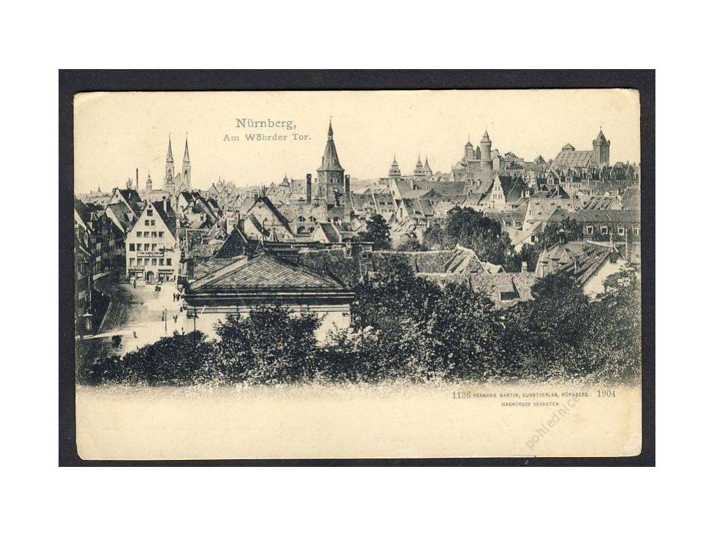 Deutschland, Nürnberg, Am Wöhrder Tor, cca 1898