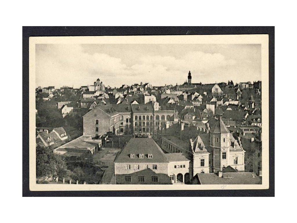 Deutschland, Zeitz, Totalansicht, cca 1925