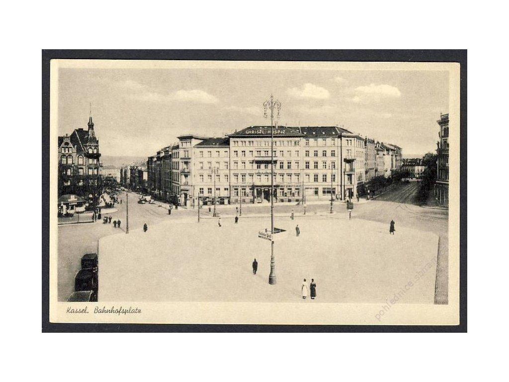 Deutschland, Kassel, Bahnhofsplatz, 1930