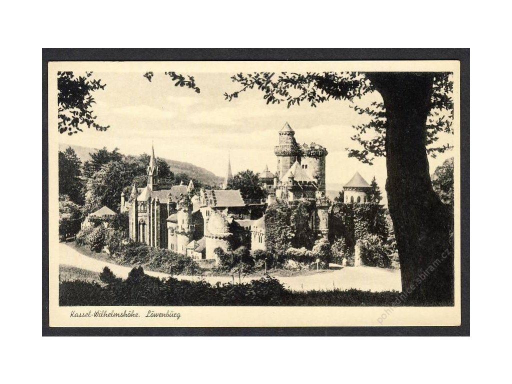 Deutschland, Kassel-Wilhelmshöhe, Löwenburg, cca 1930