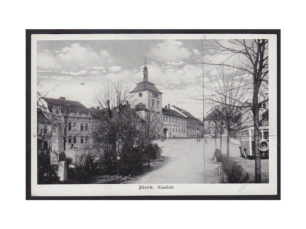 51 - Praha-západ, Jílové, náměstí, cca 1935