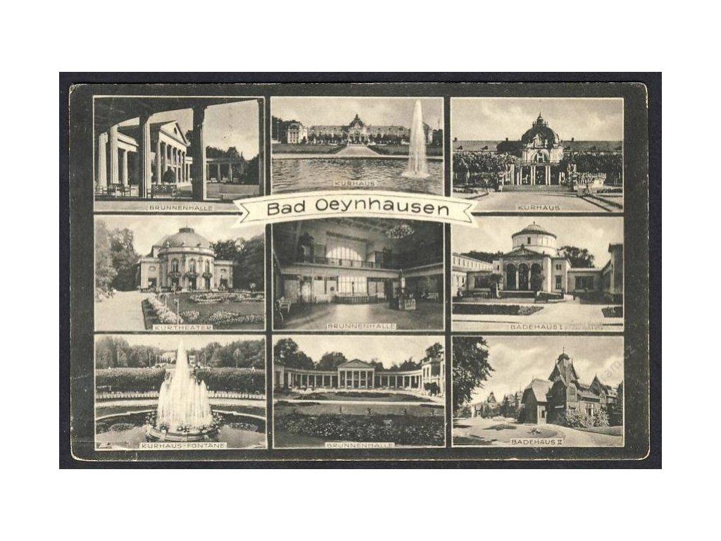 Deutschland, Bad Oeynhausen, Brunnenhalle, Kurtheater u. Ä., cca 1930