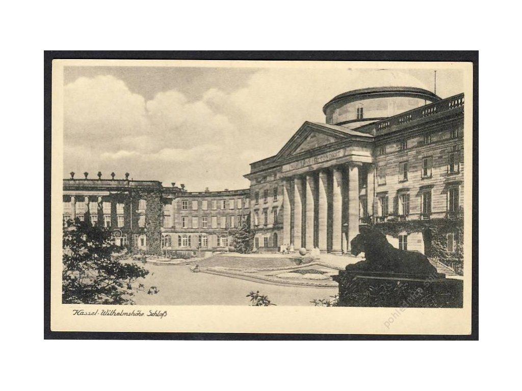 Deutschland, Kassel-Wilhelmshöhe, Schloss, cca 1930