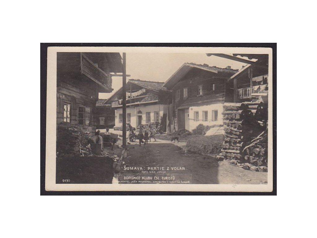 28 - Šumava, partie z Volar, foto Fon č.9130, cca 1925