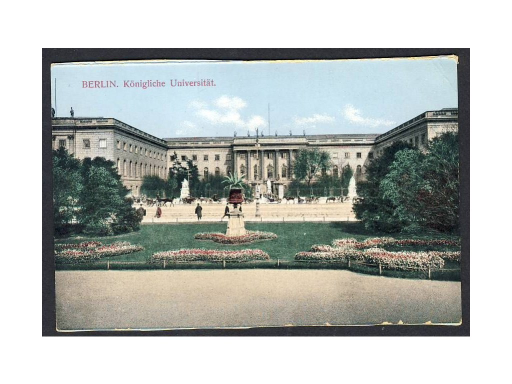 Deutschland, Berlin, Königliche Universität, cca 1908