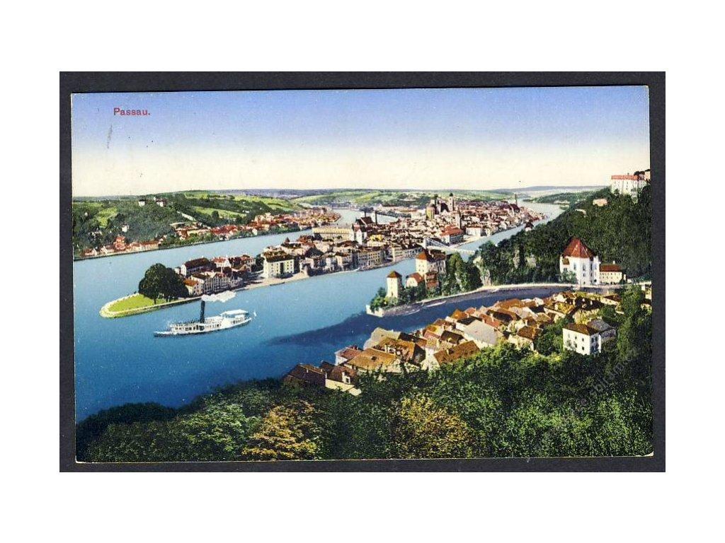 Deutschland, Passau, Totalansicht, cca 1930