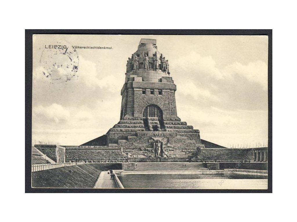 Deutschland, Leipzig, Völkerschlachtdenkmal, cca 1924
