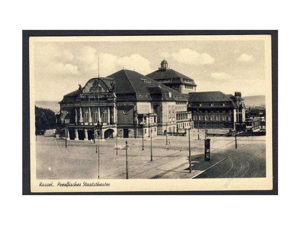 Deutschland, Kassel, Preussisches Staatstheater, cca 1935