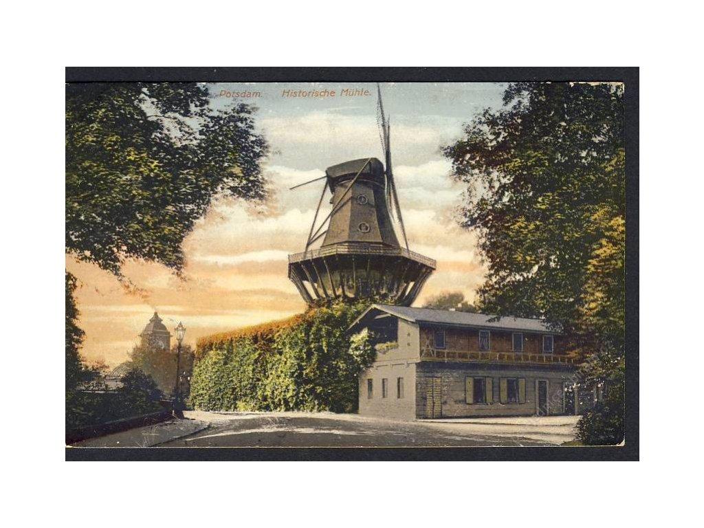 Deutschland, Potsdam, Historische Mühle, cca 1927