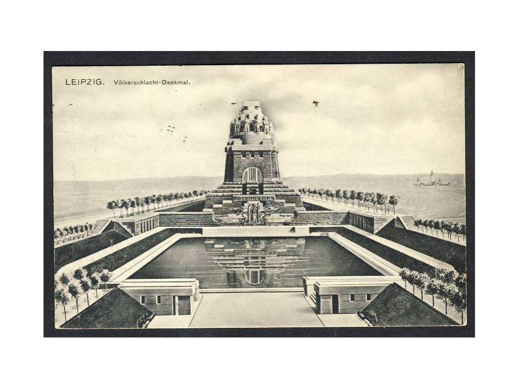 Deutschland, Leipzig, Völkerschlachtdenkmal, cca 1930