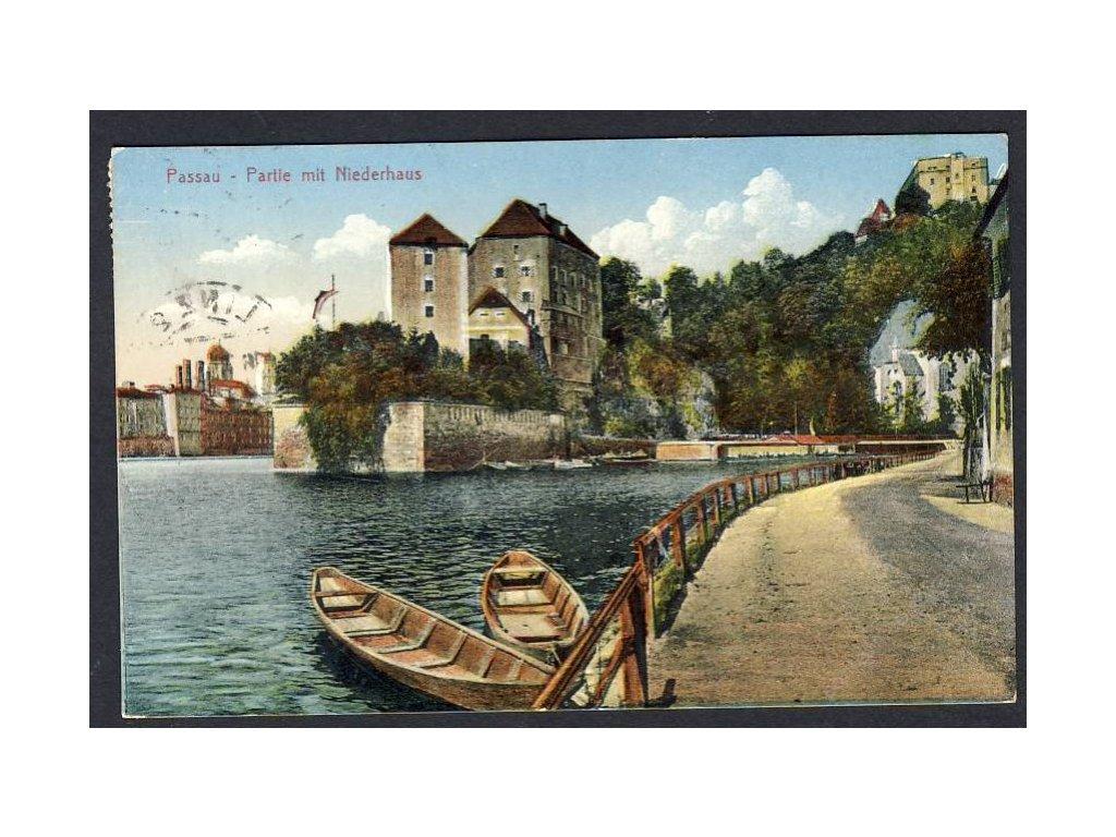 Deutschland, Passau, Partie mit Niedrhaus, cca 1929