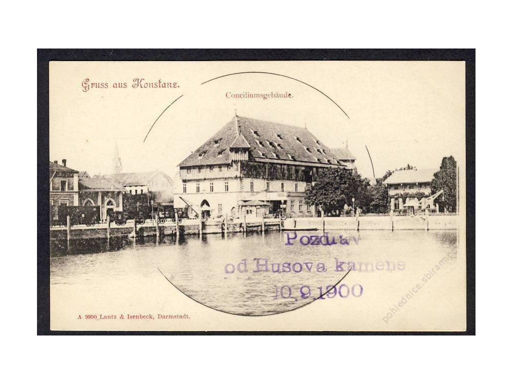 Deutschland, Gruss aus Konstanz, Conciliumsgebäude, cca 1899