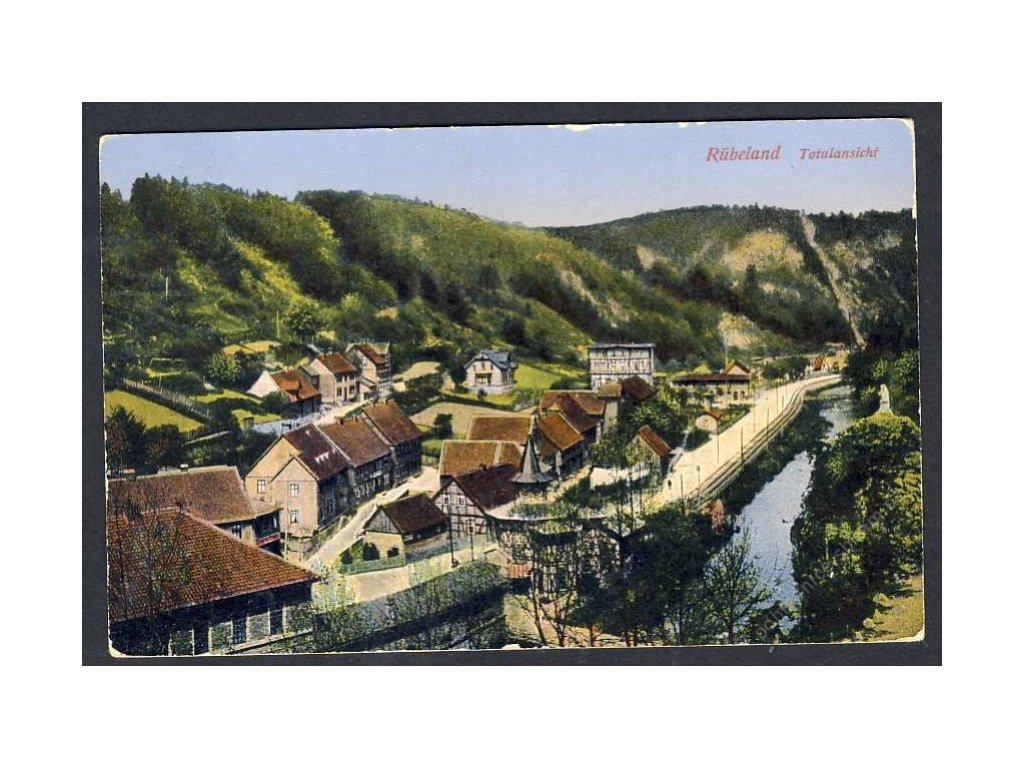 Deutschland, Rübeland, Totalansicht, cca 1925