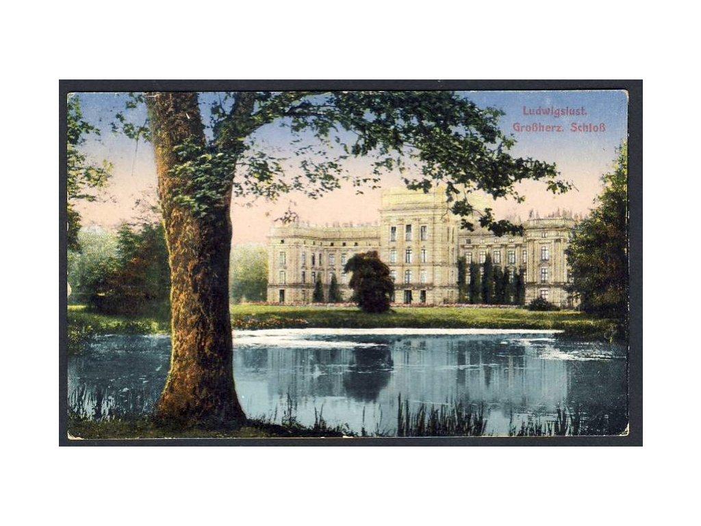 Deutschland, Ludwigslust, Grossherz, Schloss, cca 1908