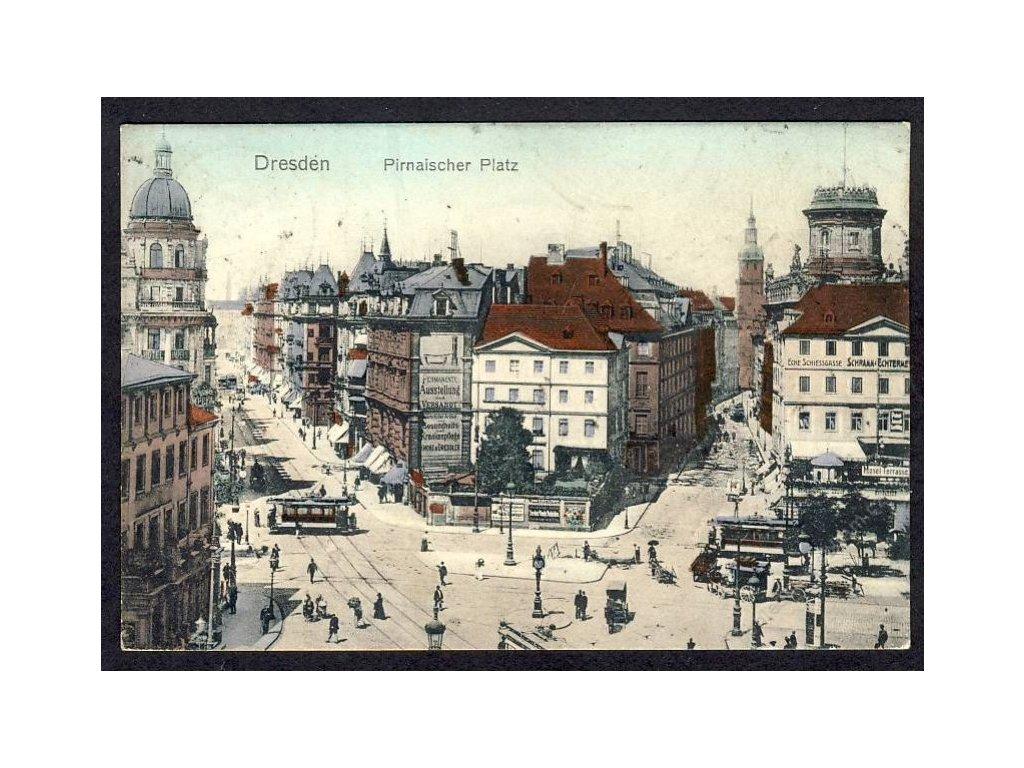Deutschland, Dresden, Pirnaischer Platz, cca 1912