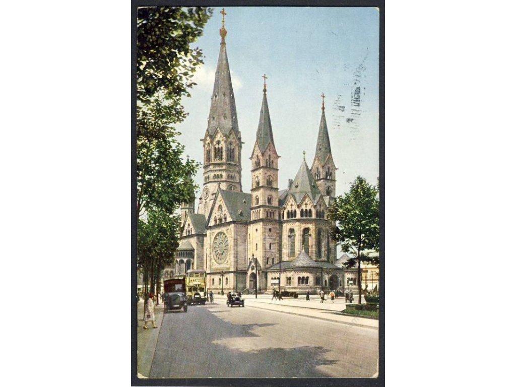 Deutschland, Berlin, Kaiser-Wilhelm-Gedächtniskirche, cca 1930