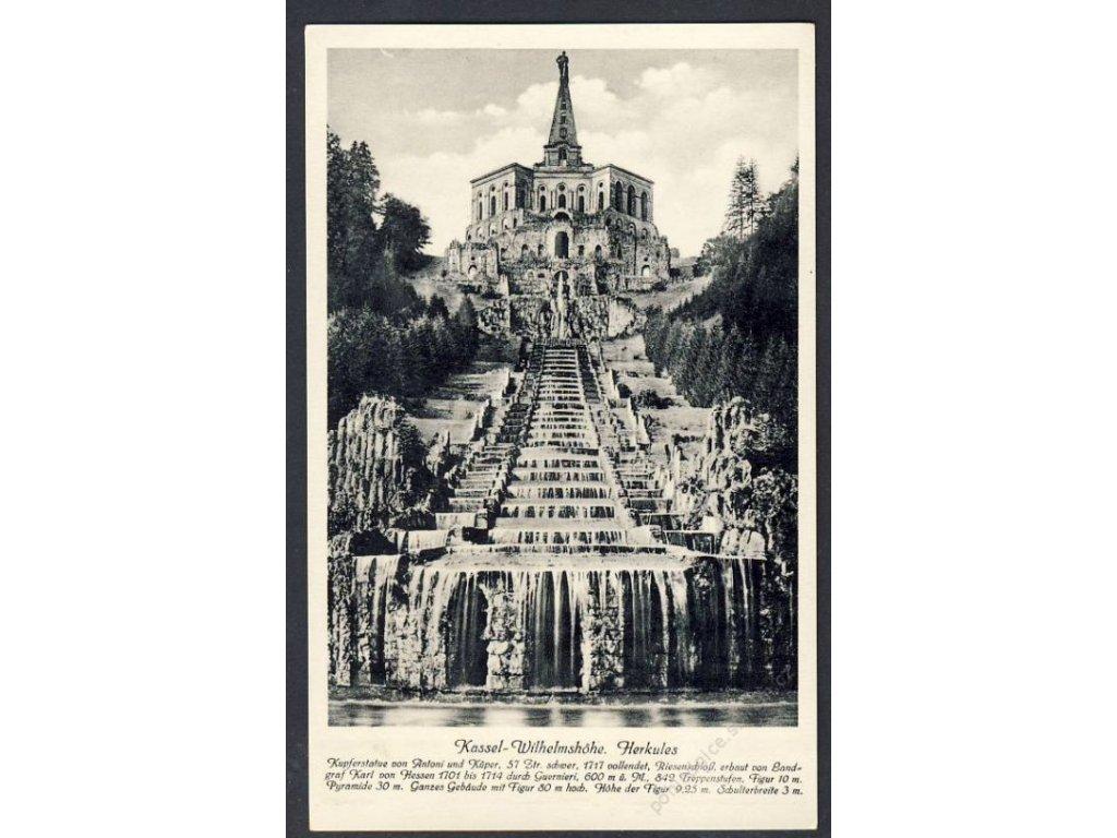 Deutschland, Kassel-Wilhelmshöhe, Herkules, cca 1935