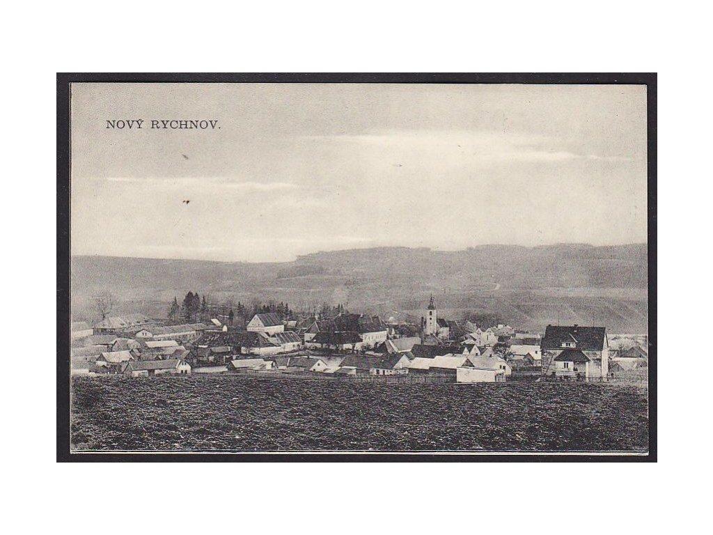 45 - Pelhřimovsko, Nový Rychnov, nakl. Kříž, cca 1920