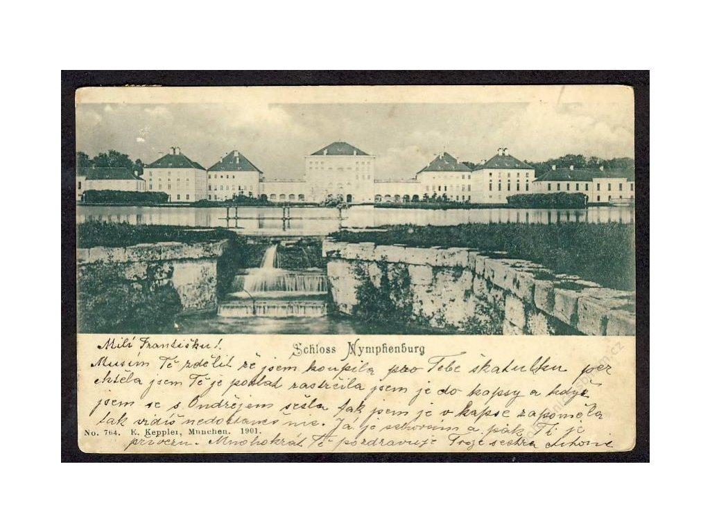 Deutschland, Schloss Nymphenburg, cca 1901